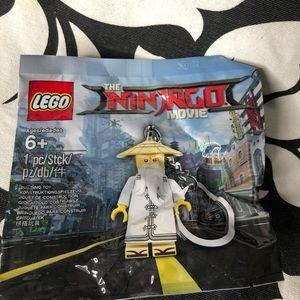 5 for $25| Lego Ninjago Master Wu Minifig Keychain